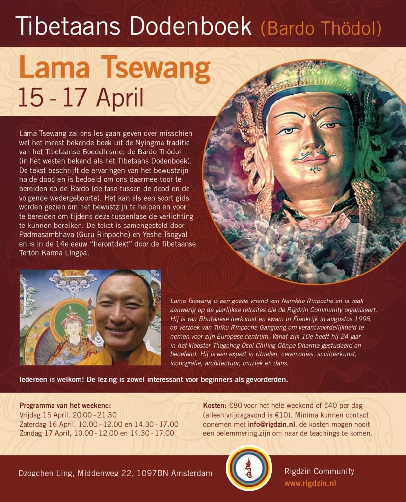 Lama Tsewang April 2016